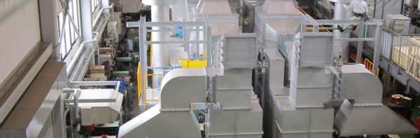 400m3/minのアンモニア排気脱臭装置