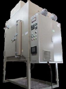 熱風循環式加熱炉(ベント付)