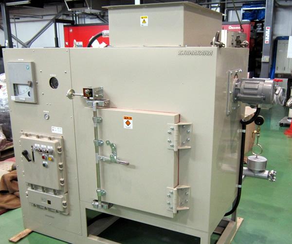 防爆乾燥機(蒸気加熱 耐圧防爆操作盤)