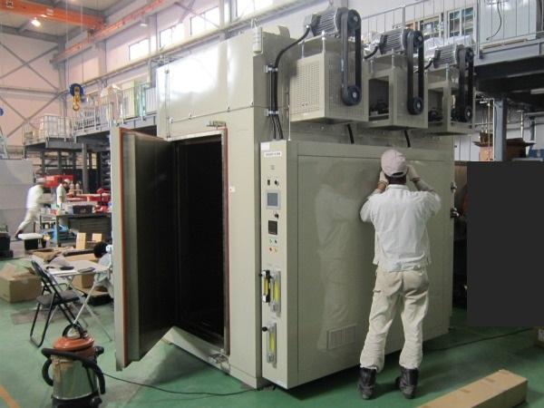 大型窒素(N2)雰囲気熱処理炉