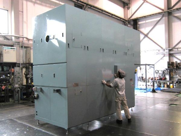 ロータリーキルン炉 改造2