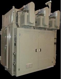 熱風循環式熱処理炉(N2パージ)