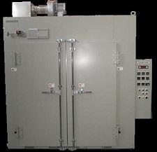 ラック投入式熱風循環乾燥機