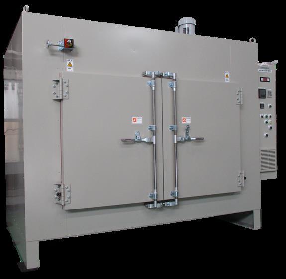 広幅熱風循環式乾燥機